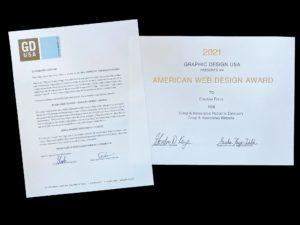 Award for Crisp site