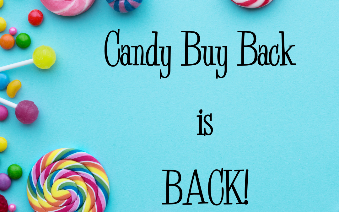 It's Getting to be Candy Time